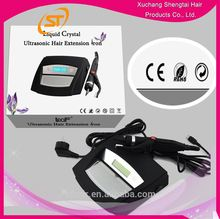 2015 alibaba express Keratin Glue Melt Loof Ultrasonic Hair Extension Machine With LCD Display