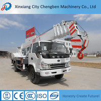 Famous Engine Workshop Hydraulic Mobile Truck With 14 Ton Crane