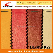 Hot selling and new design stocklot pvc leather for bag