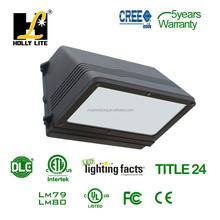 ETL and DLC LED outdoor wallpack light full cut off LED wallpack light 40W/60W/90W