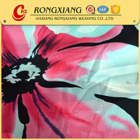 Fabric textile supplier Best selling Formal Woven chiffon fabric print