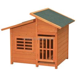 Outdoor Wooden Dog Kennels