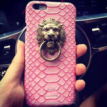 New Luxury 3D Personality Lion Head Back Case Cover Skin for iPhone 4/ 5 /5S /6/ 6S/6 Plus