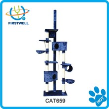 Wholesale cat furniture top sisal cat tree scratcher