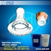 Injection molding silicone rubber for LSR baby nipples
