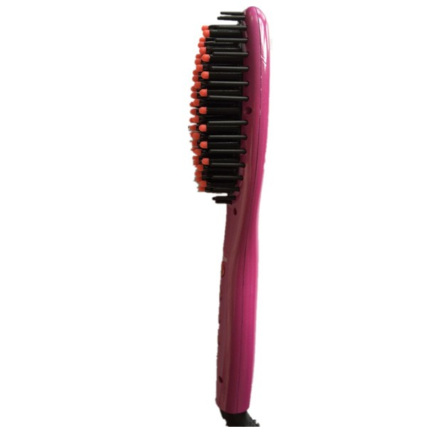 2016 New style of electric LED display  hair straightening brush