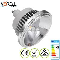 Ceiling led lamp ar111 g53 220v CRI>85 15 watt COB ar111 gu10 led