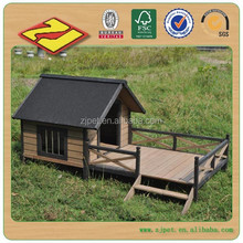 Waterproof Outdoor Wooden Dog Kennel Pet Kennel For Sale DXDH011-W08