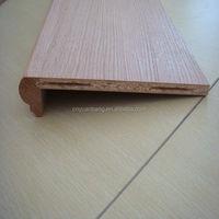 chipboard maple stair tread/stair casings