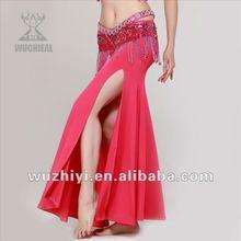 Venta al por mayor nuevo y barato traje para bailarines traje para danza del vientre, falda de danza del vientre