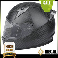 ECE Full Face Motorcycle Helmet in Carbon Fiber
