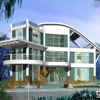 2015 easy and fast install light steel structure prefabricated comfortable house