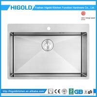 China wholesale high quality Kitchen sink,stainless steel kitchen water trough