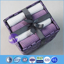 alibaba china wholesale yarn-dyed waffle weave cotton kitchen tea towel packing