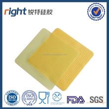 Silica gel film preservation