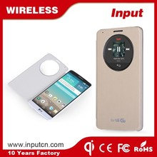 Hot sale wireless mobile charger phone case for LG G3