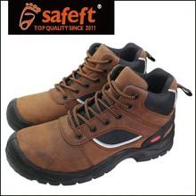 2016 new dark brown non slip shoe