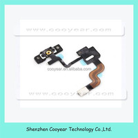 New Power Button Poximity Light Sensor Induction Flex Cable for iPhone 4 4G