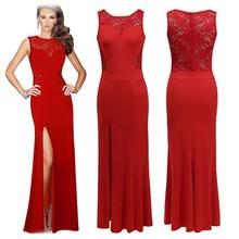 Factory wholesale Floor-length sleeveless fashion women's slim fit dress women dress factory