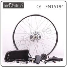 Motorlife/oem bicicletta elettrica impermeabile kit motore senza posteriore