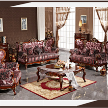 antique wood color indoor french provincial furniture/ mid century furniture in foshan shunde