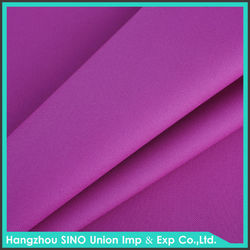 Wholesale China supplier high color fastness 100% polyester wooven yarn dye fabric