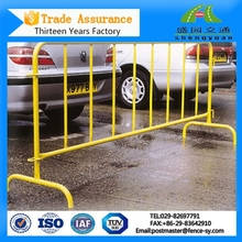 outdoor durable safety removable road control barrier fence