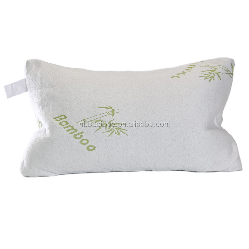 King And Queen Size Pillow Custom Bamboo Bed Rest Pillow With Washable Cover Memory Foam Pillows ...