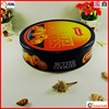 factory sale round food grade cookie promotional tin