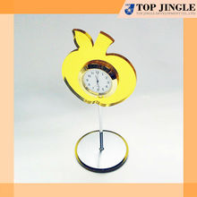 Mini Apple Shape Desk Digital Clock