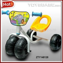 Iron push car kids no battery car