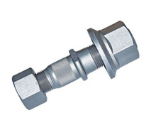 china supplier of high quality cold forged alloy wheel bolt with cap nut