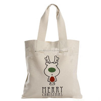 China wholesale canvas tote bags with zipper closure/cotton canvas shoe bag