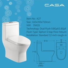 ceramics jet siphonic one piece toilet ceramic one piece toilet chaozhou ceramic white color