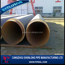 FBE/2FBE coating welded steel pipe for transimission pipeline,Epoxy coal asphalt