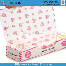 Custom Colored Candy wrapping Wax Paper Christmas Gift Wrapping Paper