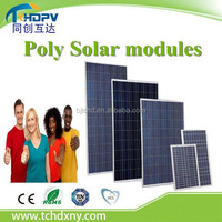 Made in China Cheap price Mono or Poly Solar module 100w 150w 200w 250w 300w Photovoltaic Solar Cells battery