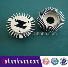 LED Aluminum extrusion sine 1994 With advantage price and free moulds