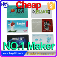 HSY Maker Printable CR80 Plastic Cheap PVC Smart Card