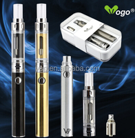 2015 new electronic cigarette PYREX Glass clearomizer airflow contrl and dual coils