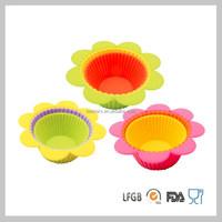 3 Pcs Cupcake Mold Baking Cups Set Healthy Kitchen Tools
