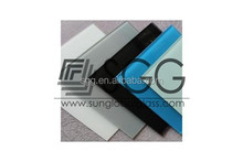 8mm tinted tempered glass panel