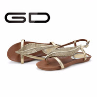 t-straps silver golden girls sandals