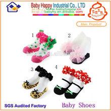 venta al por mayor de ventas superior de alta calidad calcetines bebé recién nacido