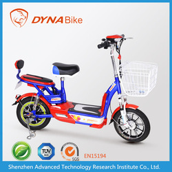 Light stylish 2 wheel electric motorcycle/electric scooter bike with baskets
