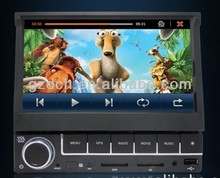 7 inch in dash monitor with gps MP5 funtion build in 4G flash 1080P optional WS-7069
