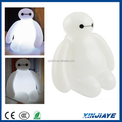 Baymax Big Hero 6 Baymax USB LED Bedroom Lamp Night Light With Remote Control US