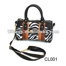 2014 Fashion animal printing zebra handbags