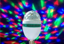led magic ball light rotating e27 bulb rgb amusement led light disco ball price