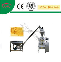 Fully automatic potato chip packaging machine